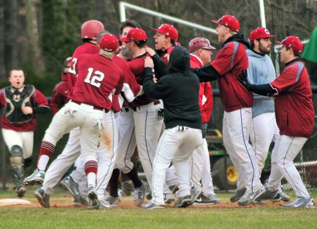 Guilford Rallies for 5-4 Baseball Win Over Piedmont