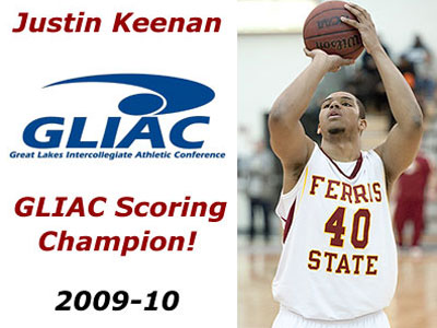 Justin Keenan Claims GLIAC Scoring Crown