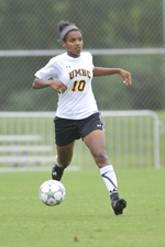 Amira Walcott and the UMBC defense played tough against a strong VCU offense last Friday