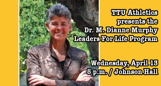 Leaders for Life program Wednesday features Dr. M.  Dianne Murphy