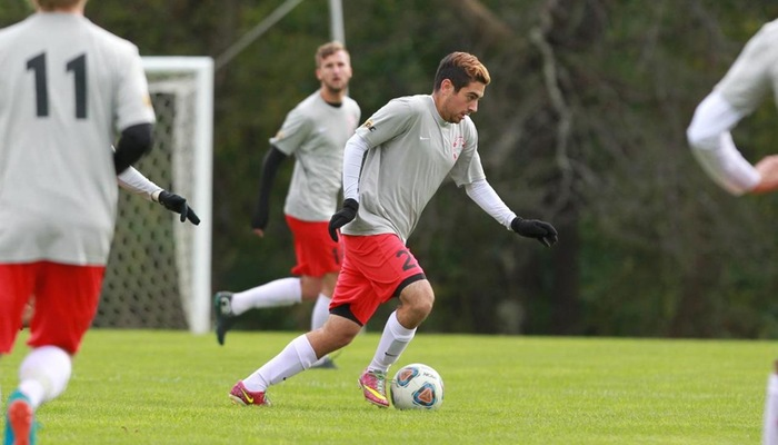 Men's soccer scores five goals in loss vs. Franciscan