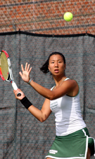 Babson Senior Jess Huang Named NEWMAC Women's Tennis Singles Player of the Week