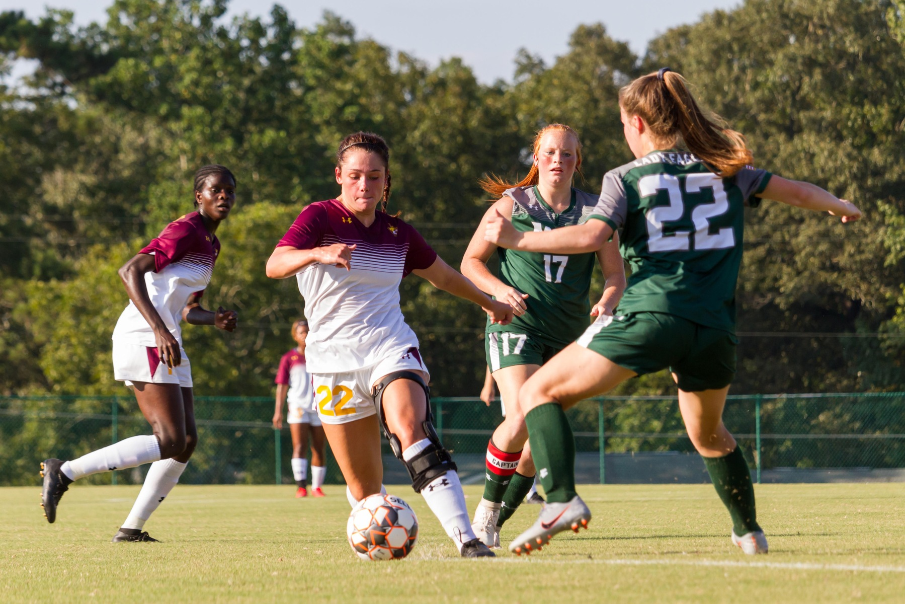 Pearl River women blast four goals in home opener