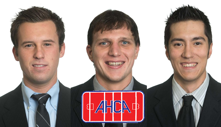 Three Men's Hockey Players Named AHCA All-Americans