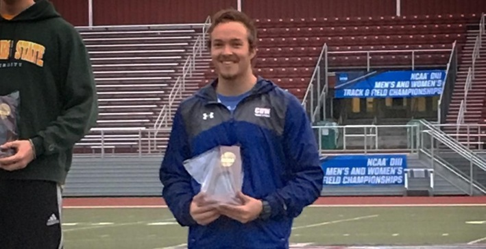 All-American: Falotico earns accolade after finishing seventh in javelin