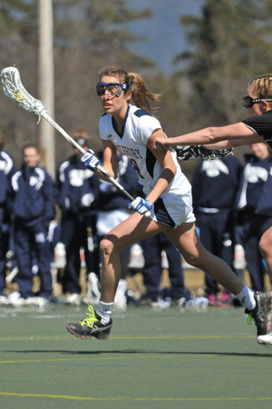 #3 Women's Lax Tops #4 F&M On The Road
