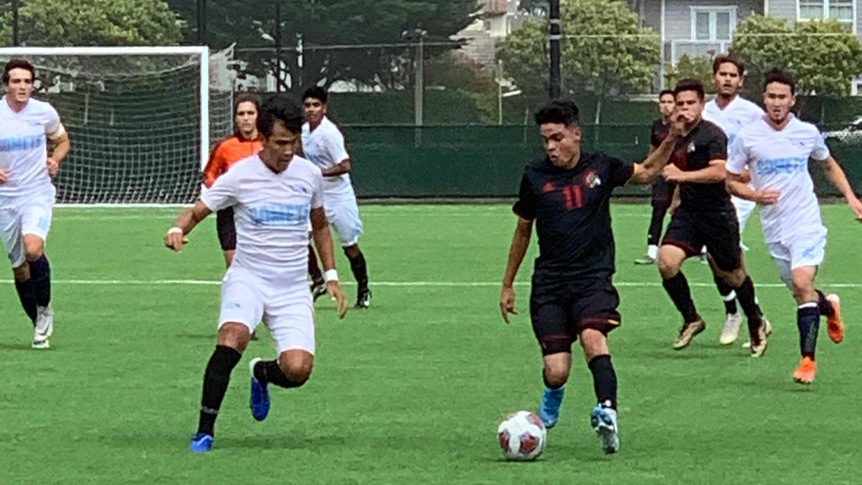 Men's Soccer improves to 2-0 with home win over Contra Costa College