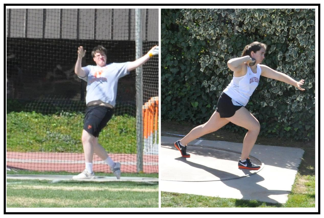 Members of Track & Field Team Compete at Benny Brown Invitational