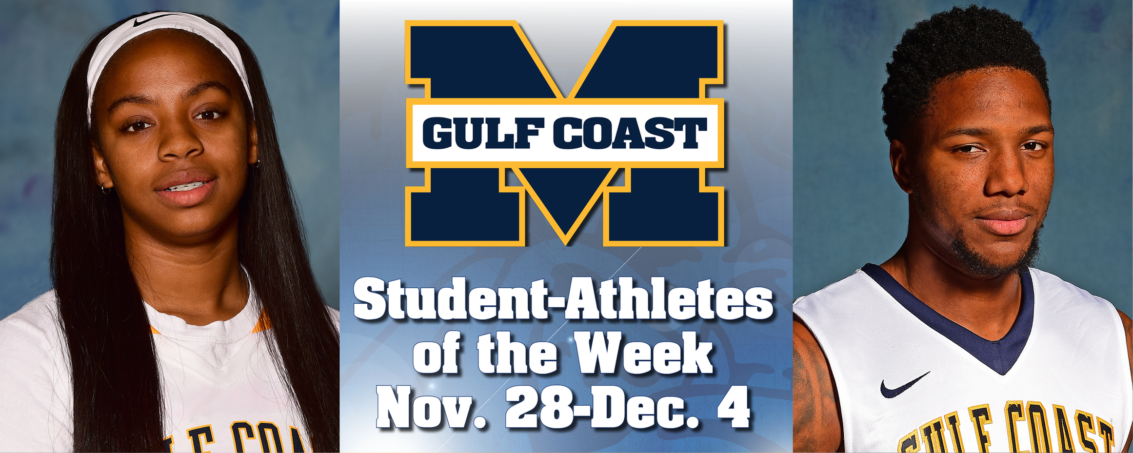Tobias, Parker named MGCCC Student-Athletes of the Week