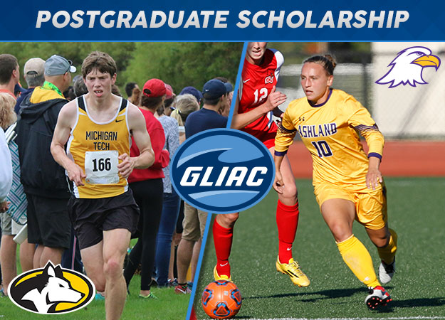 Ashland's Brown, Michigan Tech's Kulas Named GLIAC Pat Riepma Postgraduate Scholarship Recipients
