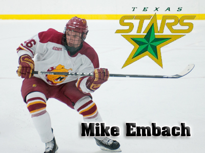 Texas Stars Sign Mike Embach To A Professional Tryout Contract