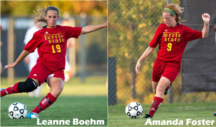 Bulldog Women's Soccer Players Attain All-GLIAC Recognition
