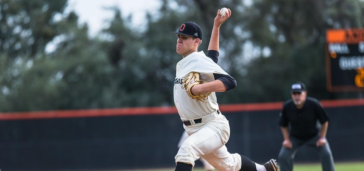 Oxy Pitching Leads in Wins Over Pacific