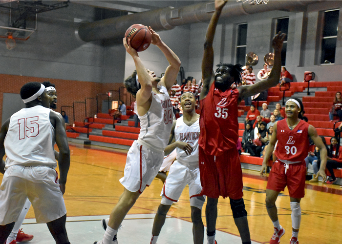 Scotty Chadwick had 15 points and seven rebounds in Wednesday night's 88-85 overtime loss to LaGrange.