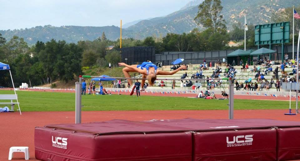 Gauchos Heat Up the Track in Cool Winter Opener