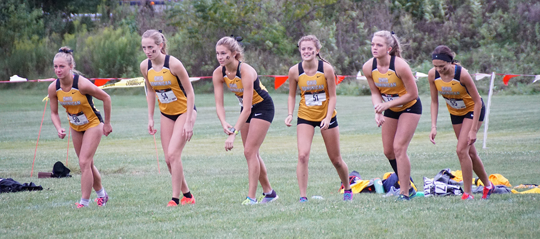 Cross Country Notches Four Top 10 Finishes At Battle Of Columbus