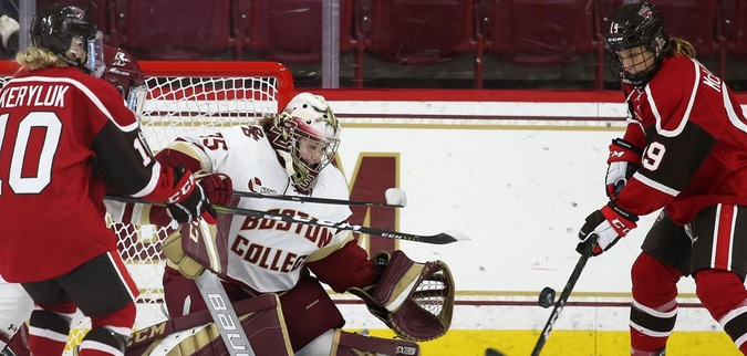 St. Lawrence Drops Second Straight OT Heartbreaker at BC