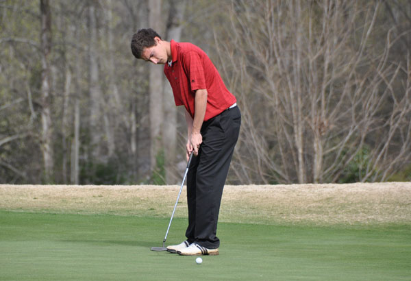Golf: Panthers fifth after first round of USA South Tournament