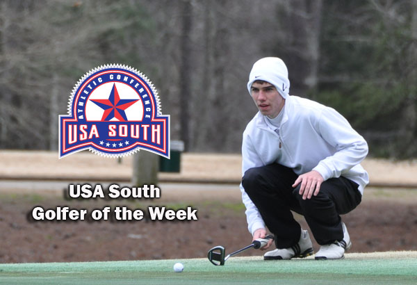Golf: Howard earns second USA South Golfer of the Week award