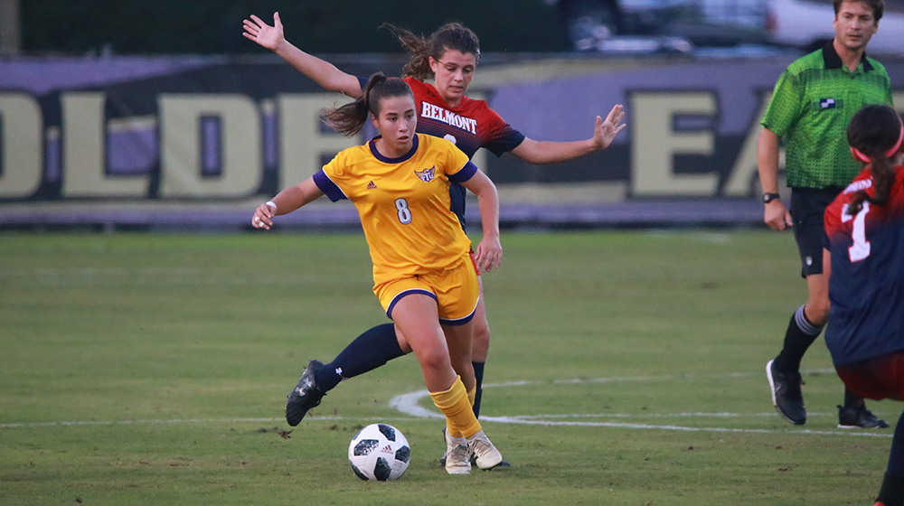 Golden Eagles welcome SEMO to Tech Soccer Field for Friday night OVC showdown