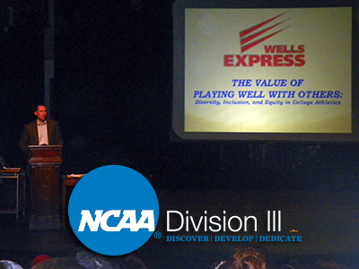Wells Welcomes Guest Speaker To Celebrate NCAA Division III Week