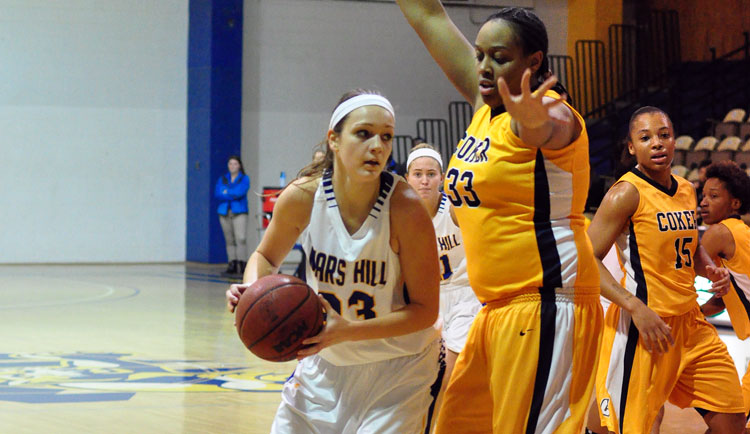 Women's Basketball Rallies to Defeat Lees-McRae