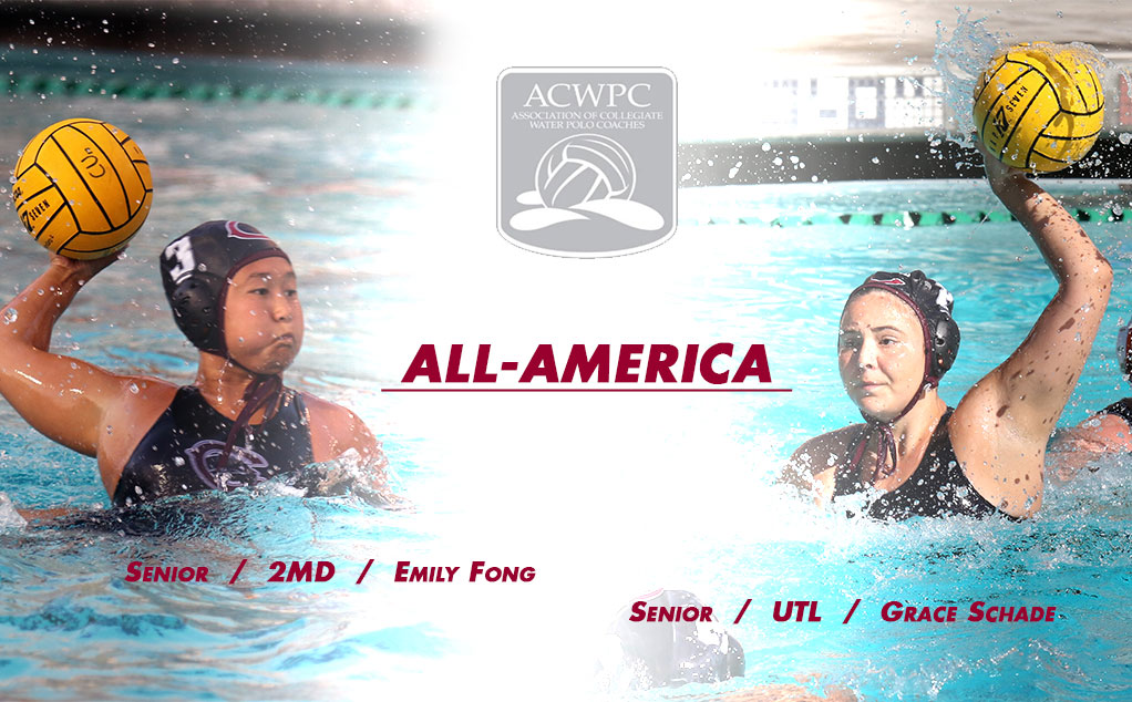 Schade, Fong secure ACWPC All-America honors