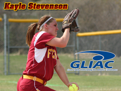 Ferris State Softball Pitcher Kayle Stevenson Recognized By GLIAC