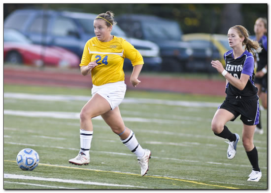 Mount women's soccer team plays Franklin College to a 1-1 double OT tie on the road