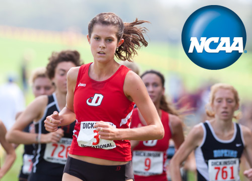 Catherine Campbell led the Devils to a top 25 finish at the NCAA National Championship<BR>