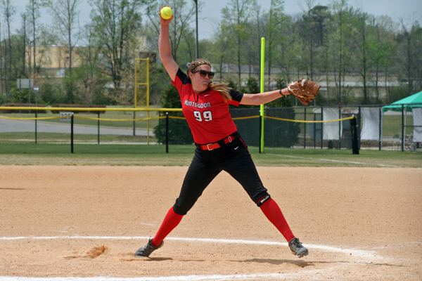 Meadows fires third one-hitter in six games to lead Lady Hawks