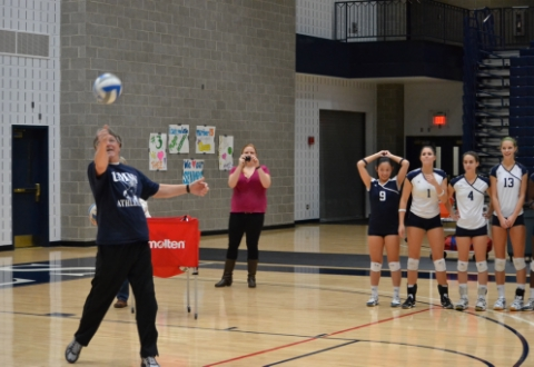 UMW Volleyball Falls to Stevenson in Five Sets