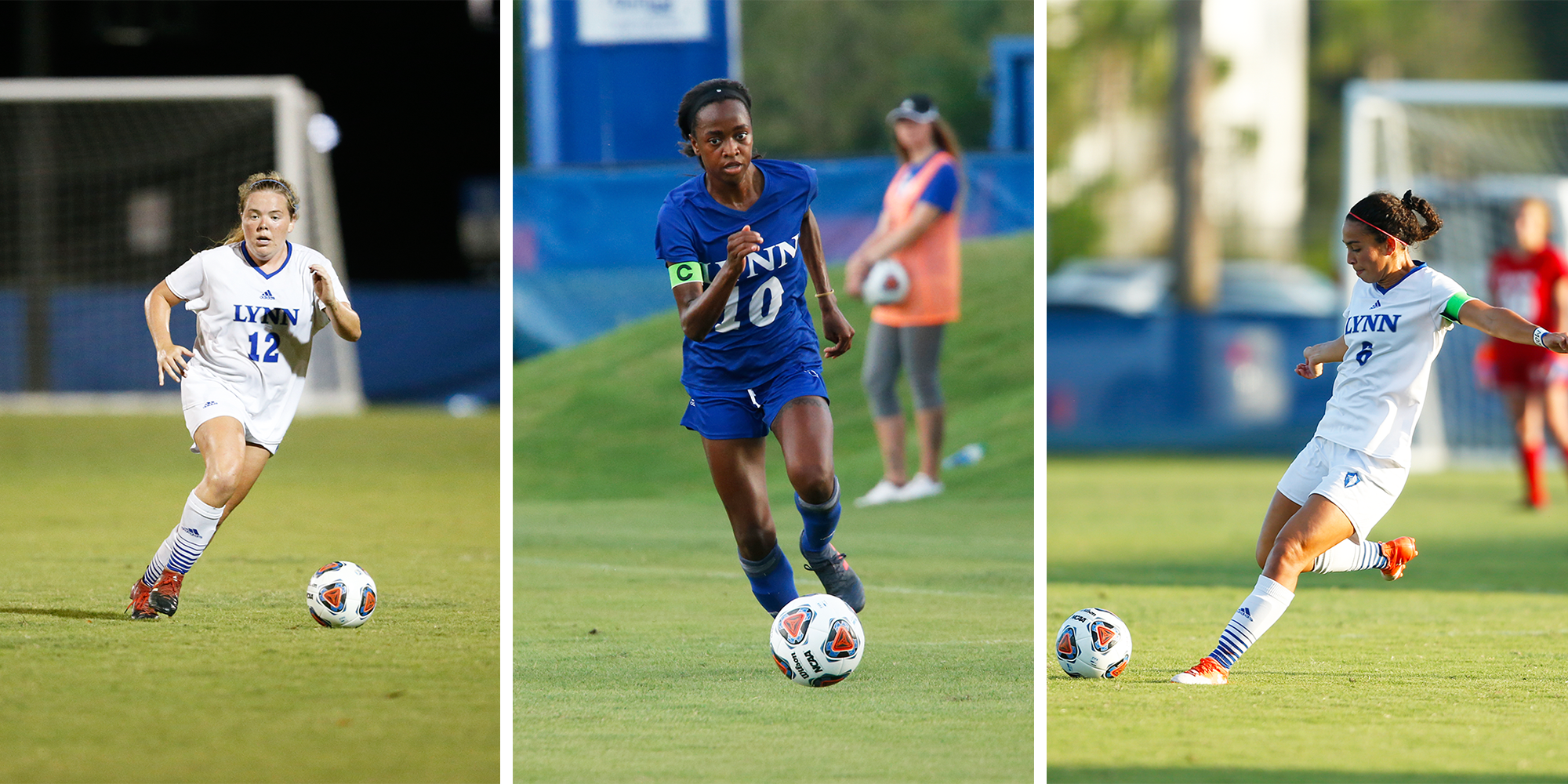 Women's Soccer Trio Collect All-SSC Honors