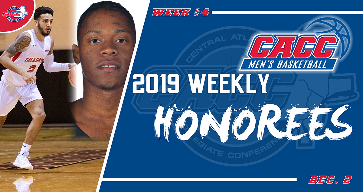 CACC Men's Basketball Weekly Honorees (Dec. 2)
