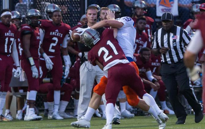 AMCAT Defense Has Big Day in 27-13 Win over Gallaudet