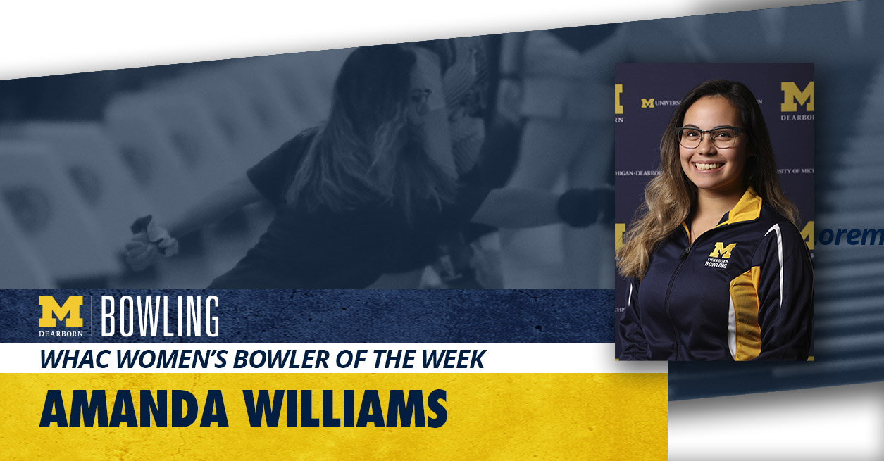 Williams earns WHAC Bowler of the Week award