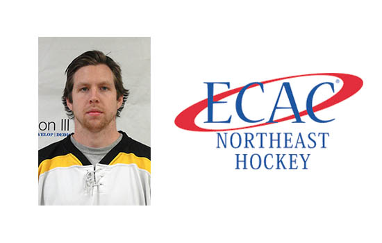 Jameson Named ECAC Northeast Player of the Week