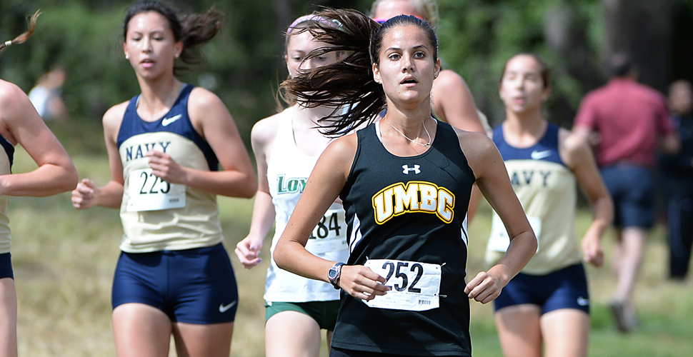 Omar's School Record Time Paces Men, Mezebish Leads UMBC Women's Squad at Princeton Invitational