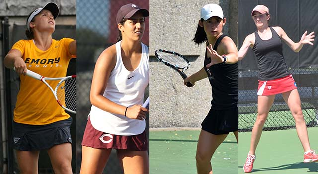 Four UAA Teams Earn Bids to NCAA Division III Women's Tennis Championship