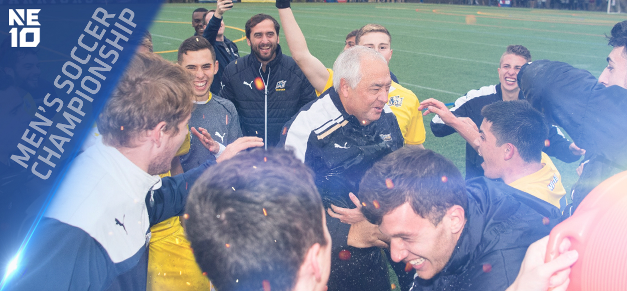 Embrace The Championship: Merrimack Uses Overtime to Win First NE10 Men's Soccer Title in 20 Years