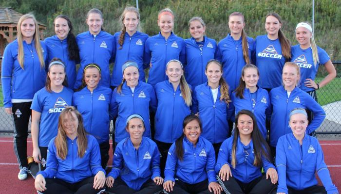 Women's Soccer Ranked #11 in Week Four of the USCAA Poll