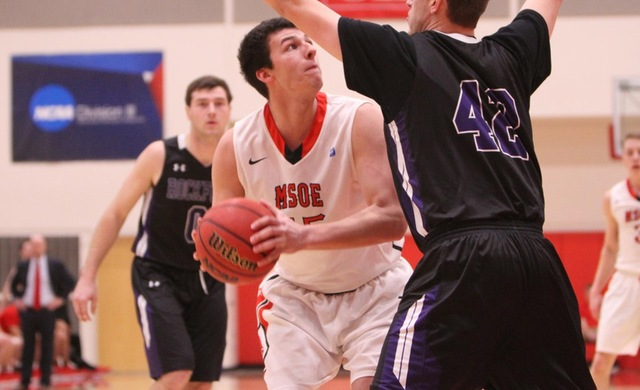 Men's Basketball Jumps Out Early, Coasts Past CUC