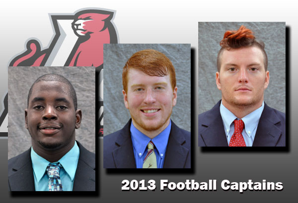 Football: Team captains announced for 2013 season