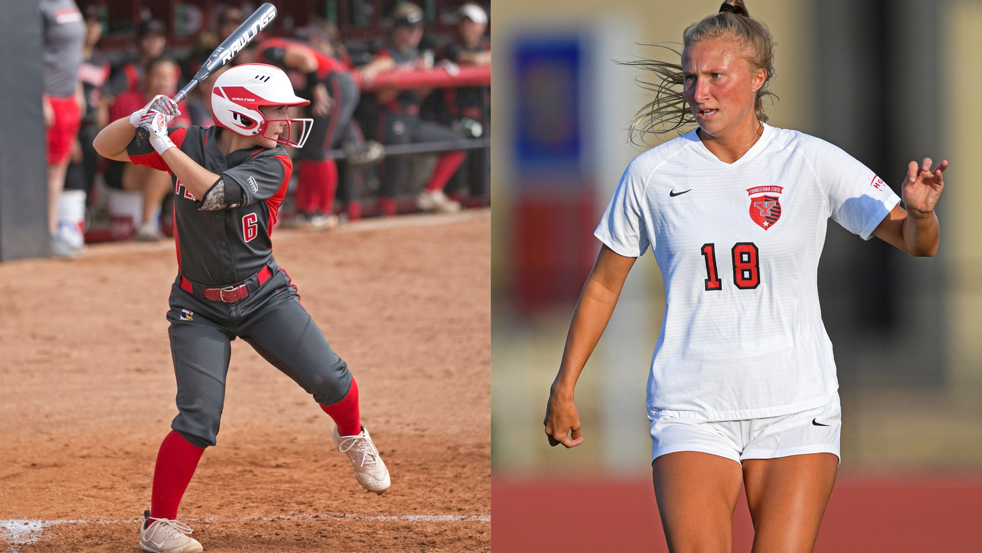 YSU Softball, Women's Soccer Team Up For Cancer Research
