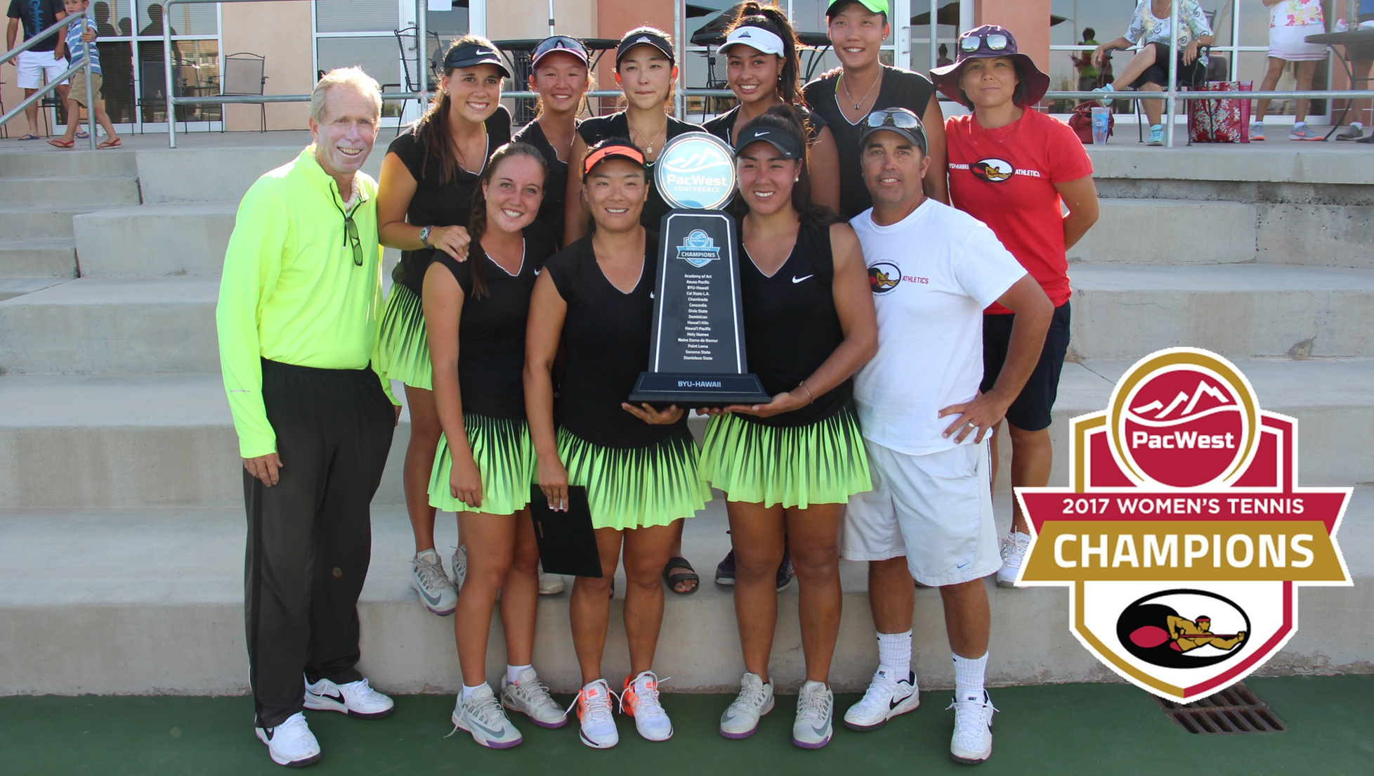 Seasiders win 11th consecutive PacWest Championship