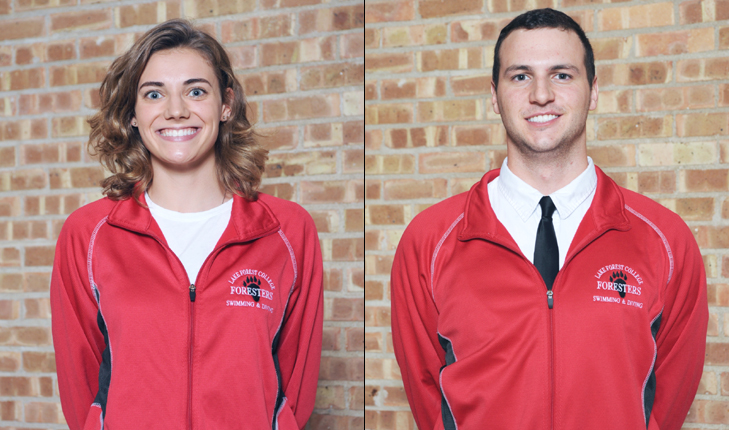 A Pair of Foresters Named MWC Swimmers of the Week by CollegeSwimming