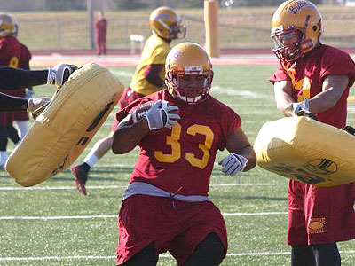 The Bulldogs hold their first spring scrimmage this Saturday (Photo by Sandy Gholston)