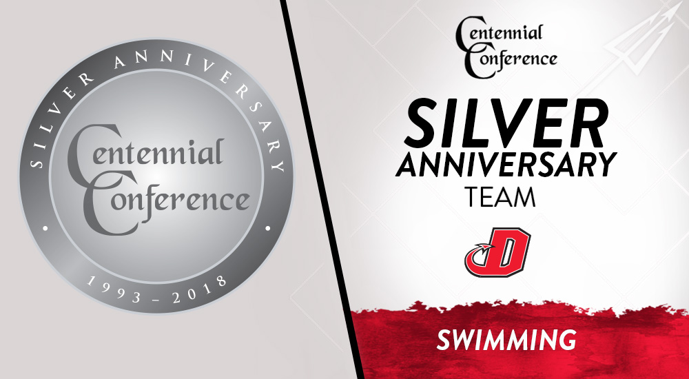 Centennial Conference | Silver Anniversary Swimming Teams