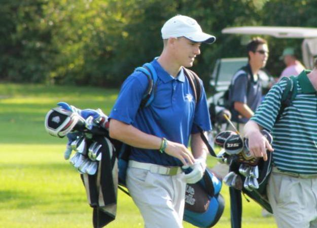 Men's Golf in 13th Place Tie at Fireline