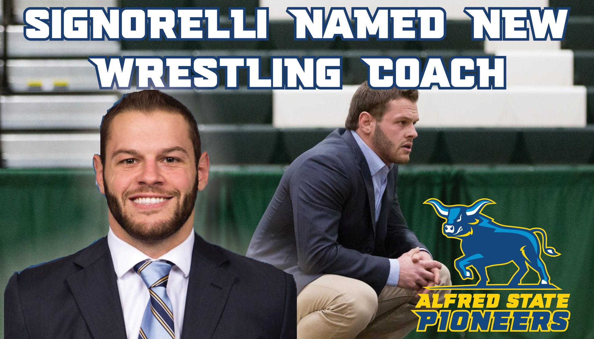 Signorelli Named New Wrestling Coach